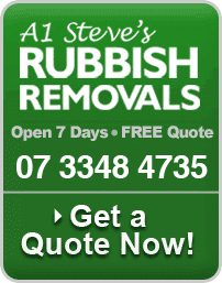 Steve's Rubbish Removals Open 7 Day - Free Quotoe 07 3348 4735 - Get a quote now