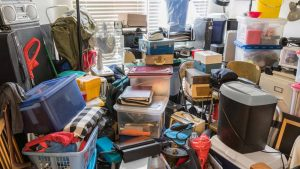 Clutter - Hording in a house