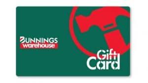 Bunnings Gift Card